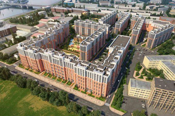 Компания «Отделстрой» начала продажи в ЖК «Новый Лесснер»