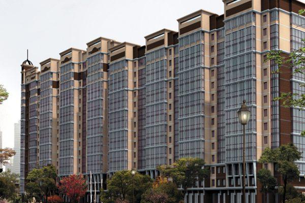 Новый жилой комплекс в Московском районе