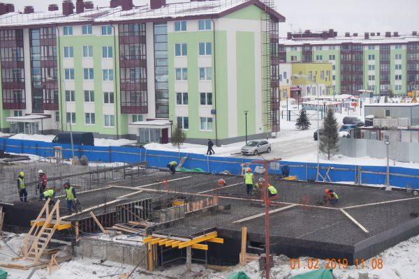 ЖК «Образцовый квартал 5»: первый пошел.