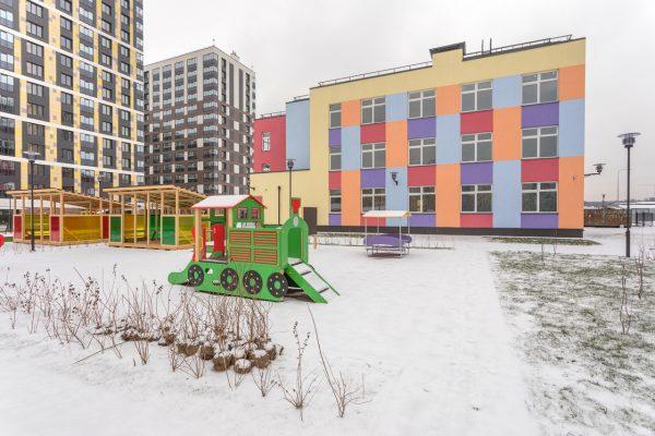 Setl Group построил детский сад на Октябрьской набережной
