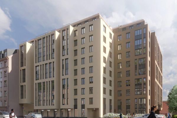 ЮИТ вывел на рынок новый жилой комплекс Wellamo в историческом районе Санкт-Петербурга